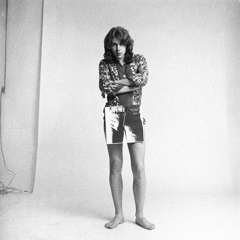 Mick Taylor, Sticky Fingers Promo Shoot, London, 1971