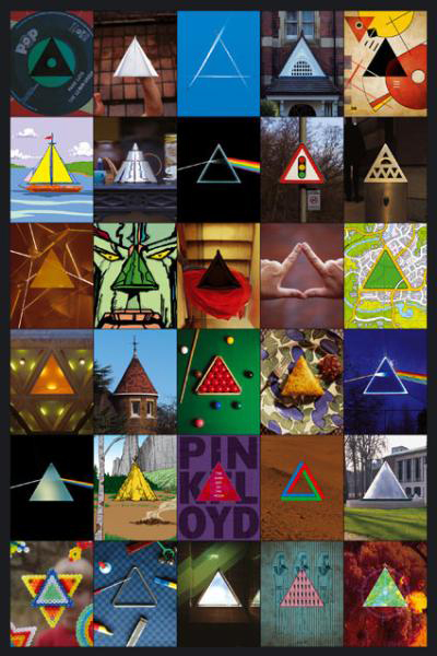Pink Floyd, Dark Side of the Moon, 30th Anniversary Triangles, 2003