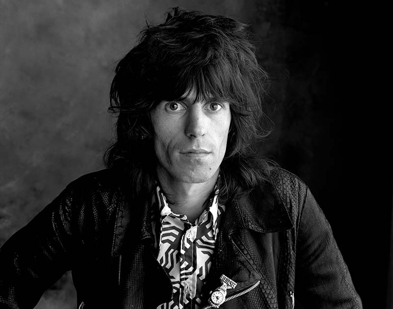 Keith Richards, Sticky Fingers - Alert Stone, London, 1971