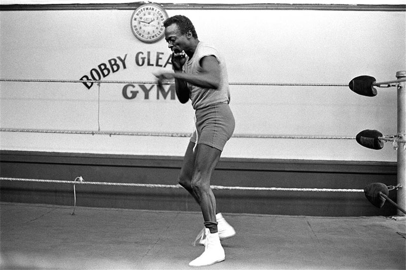 Miles Davis Boxes at Gleason's Gym, New York, NY, October 1969