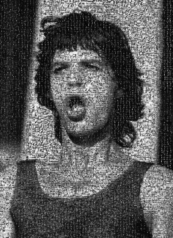 Mick Jagger Mouth, 1972-1998, Mosaic