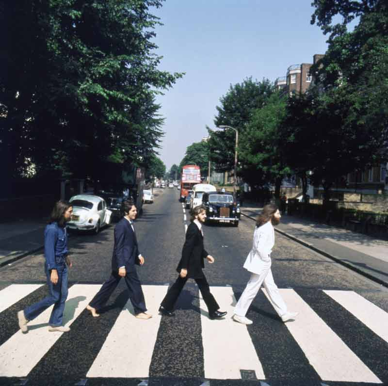 Abbey Road Album Cover Outtake (AB5), London, 1969