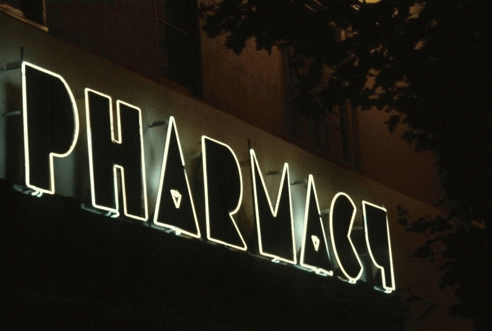 San Francisco Neon Series, Pharmacy, 1980
