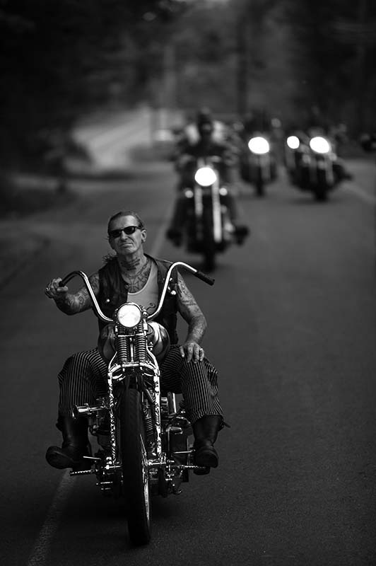 Indian Larry, Leading the Pack, Laconia, 2004