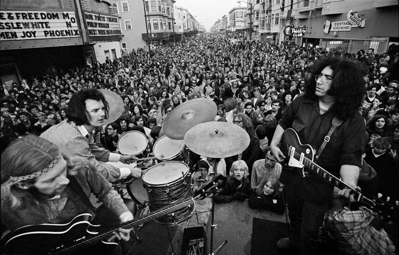 The Grateful Dead, Haight Street Fair, San Francisco, March 3, 1968