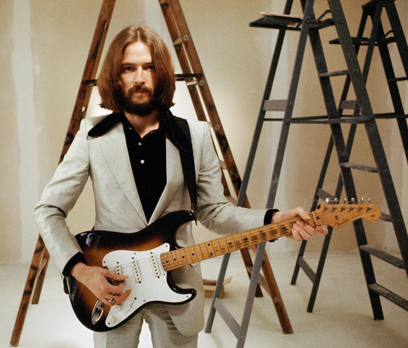 Eric Clapton Album Back Cover Outtake, 1970