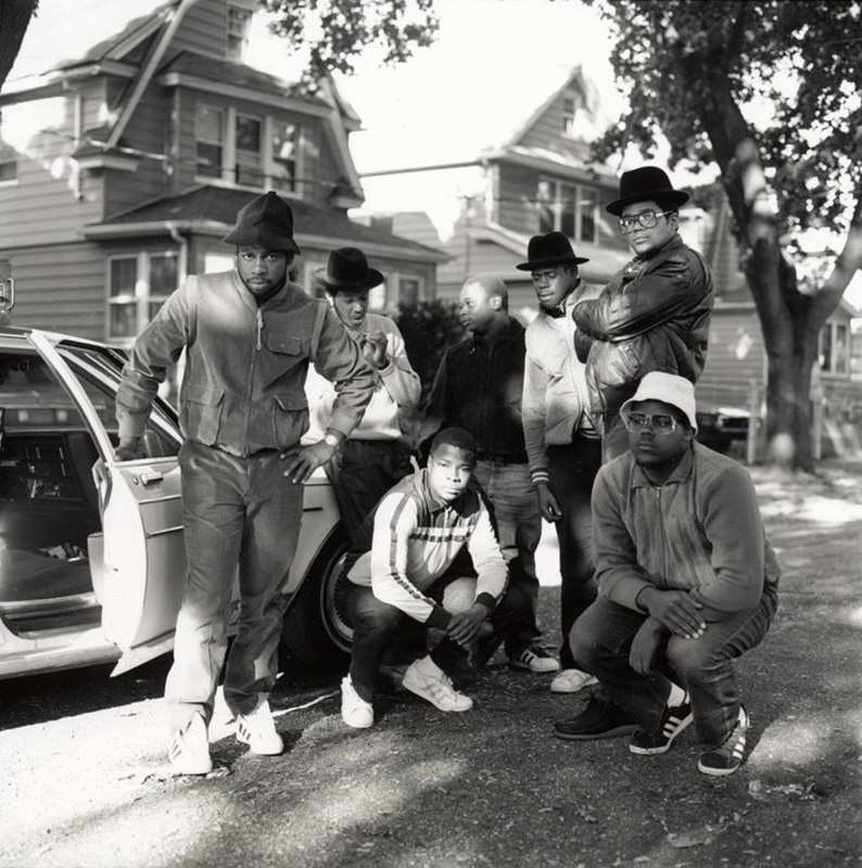 Run DMC and Posse, Hollis Queens, 1984