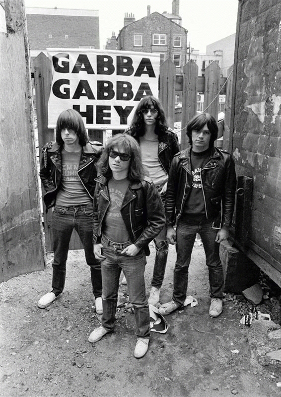 The Ramones - Gabba Gabba Hey, Site of Cavern Club, Liverpool, 1977