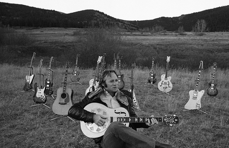 Stephen Stills, Guitar Collection, Caribou Ranch, CO, 1975
