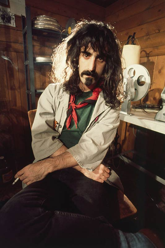 Frank Zappa Portrait at Home, Laurel Canyon, CA, 1972