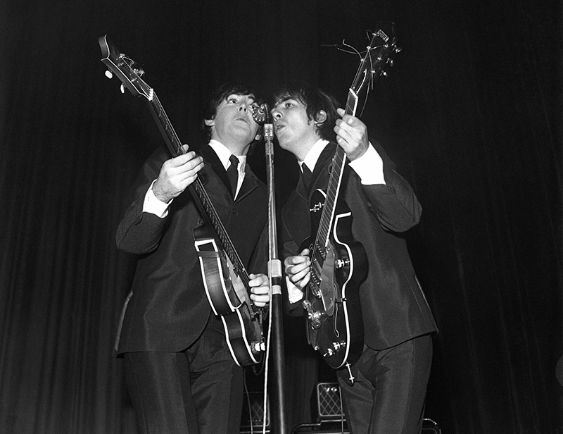 Paul McCartney and George Harrison, Reflections, ABC, Huddersfield, 1963