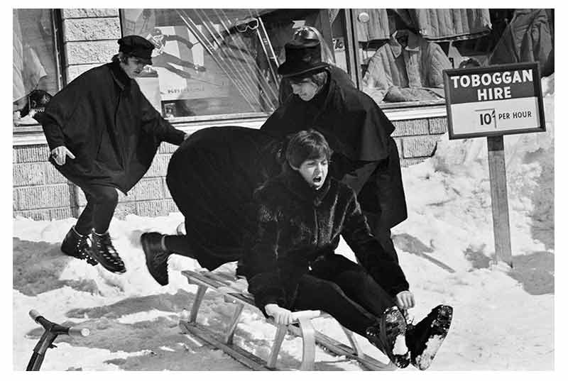 The Beatles Toboggan Hire, Austria, 1965 (Ref.#B45)