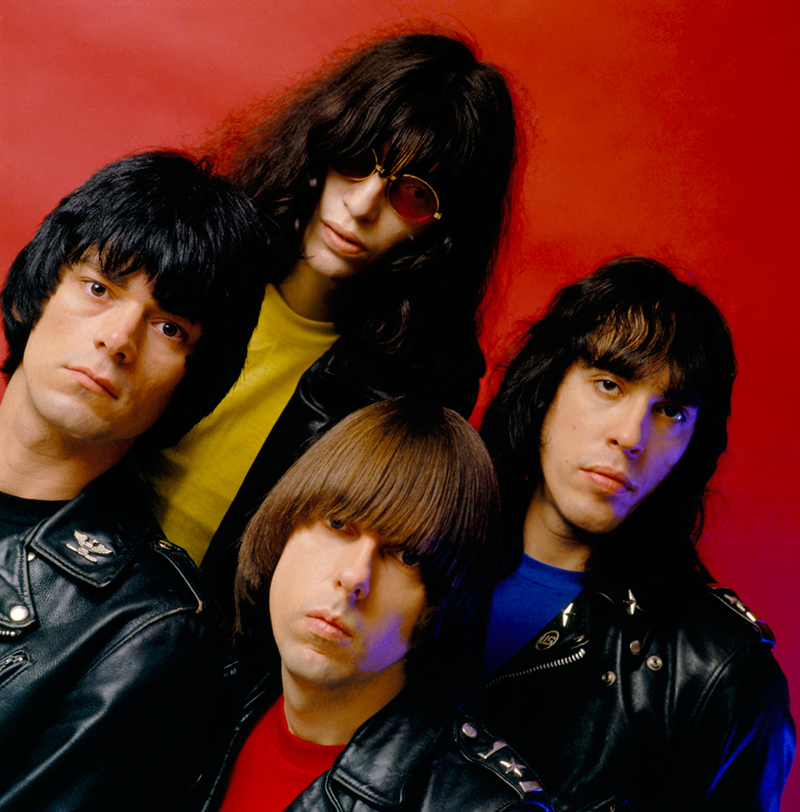The Ramones, End of the Century Album Cover Outtake,1979