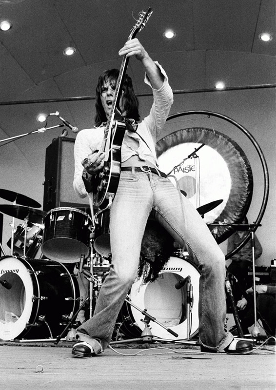 Jeff Beck Performing at the Crystal Palace Bowl, 1973