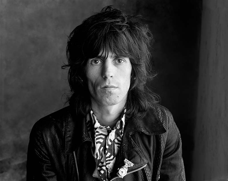 Keith Richards, Sticky Fingers - Rogue, London, 1971