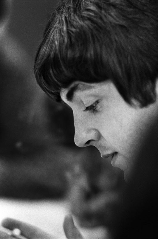 Paul McCartney Backstage, Candlestick Park, San Francisco, 1966