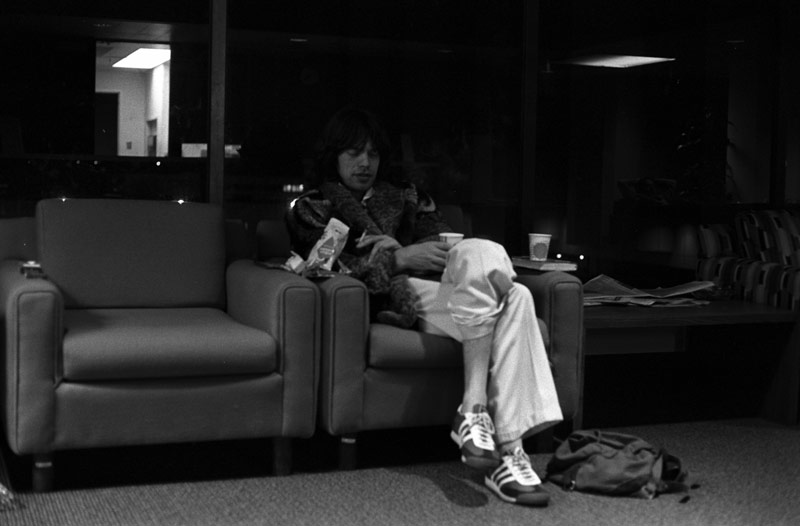 The Long Night - Mick Jagger in the Waiting Room, 1976