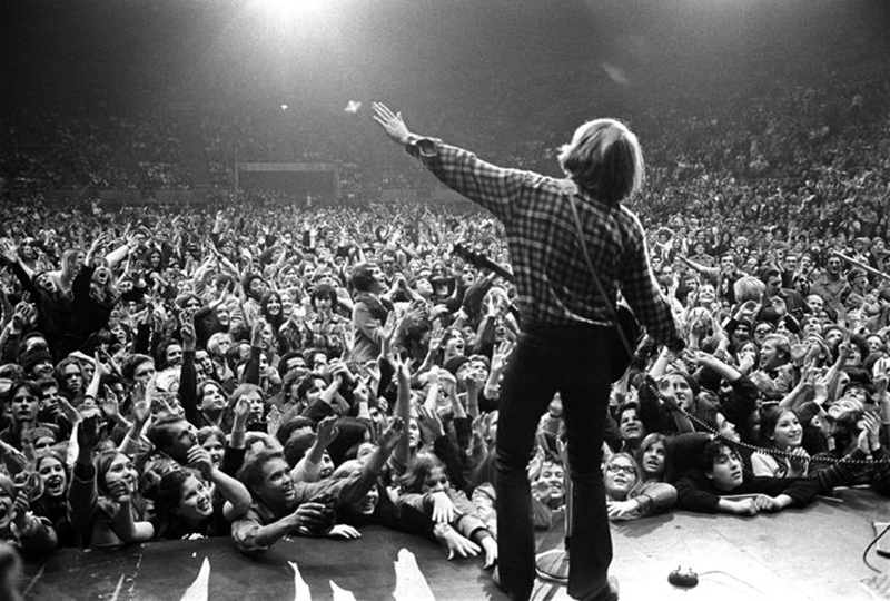 Creedence Clearwater Revival (John Fogerty), Oakland Coliseum, 1970