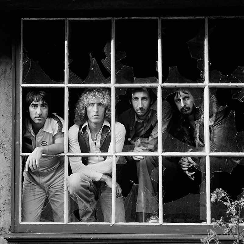 The Who Through a Window, Shepperton Studios, England, 1978