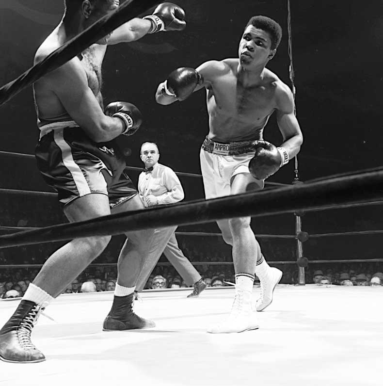 Ali vs Zora Foley, Madison Square Garden, NY, 1967
