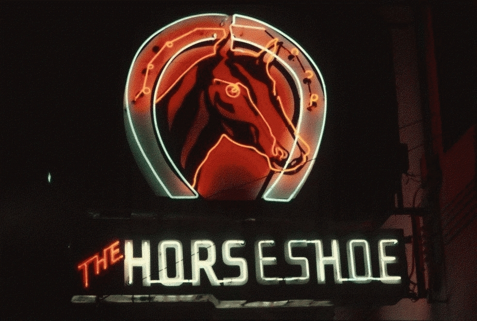 San Francisco Neon Series, The Horseshoe Tavern, 1980