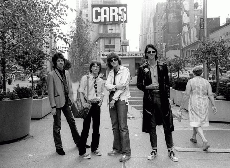 The Cars Group Shot, NYC, 1979