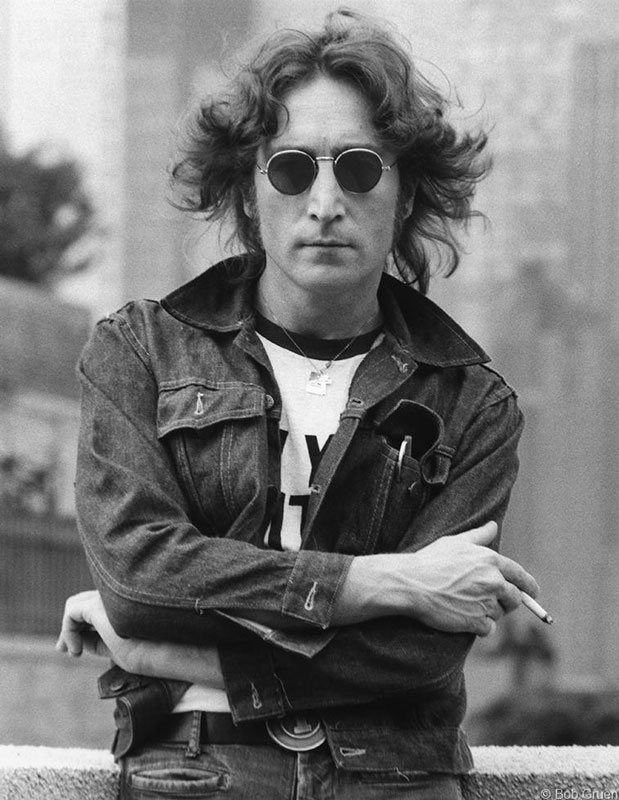 John Lennon, Denim Jacket - Arms Crossed, NYC, August 29, 1974