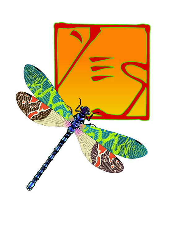 Yes Dragonfly Chop Logo I, 2001