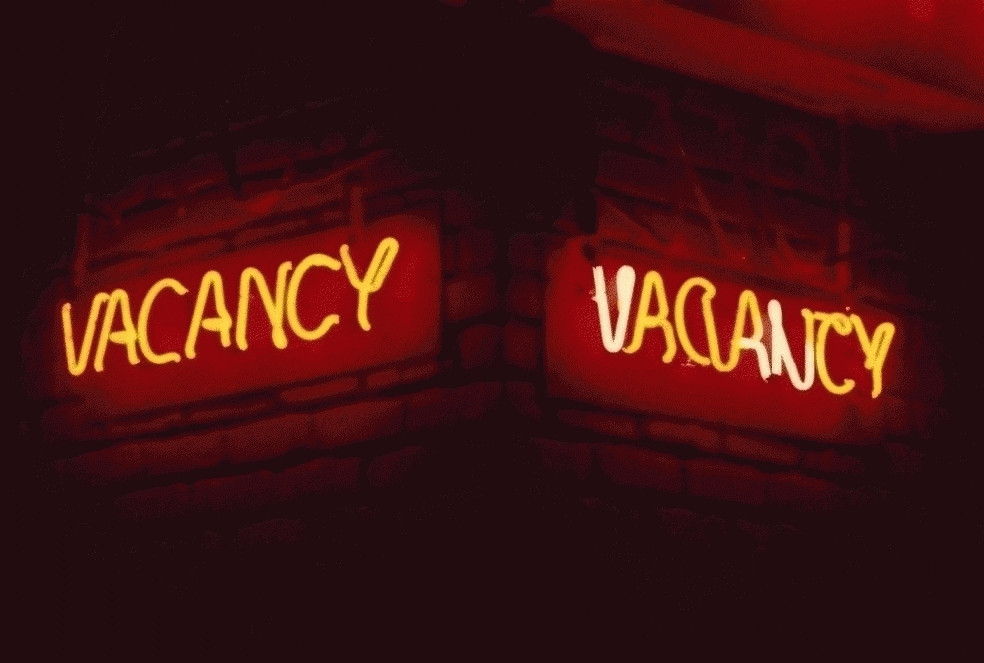 San Francisco Neon Series, Vacancy Vacancy, 1980