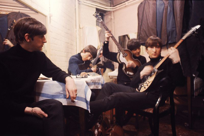 The Beatles Backstage at the Cavern - John Looking, Liverpool, 1963