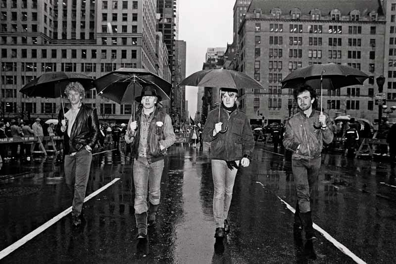 U2, St. Patrick's Day Parade, NYC, 1982 (II)