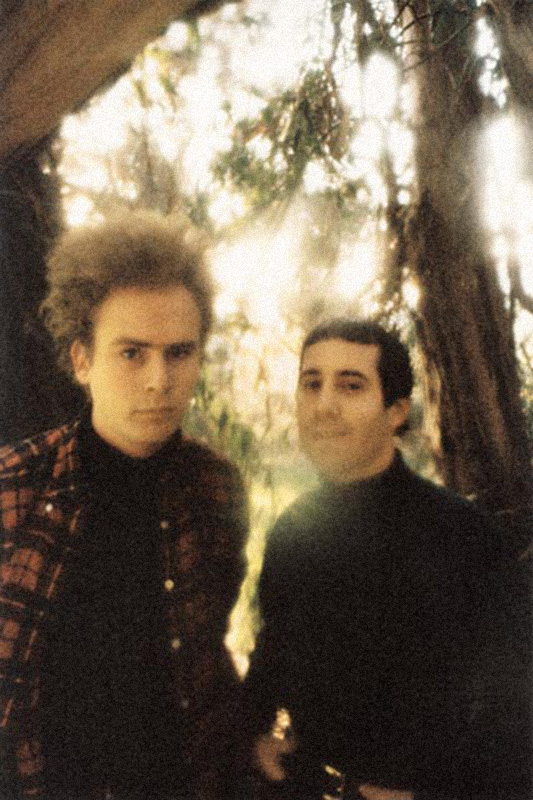 Paul Simon & Art Garfunkel, Franklin Canyon, CA, 1965