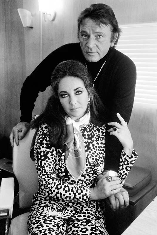 Richard Burton and Elizabeth Taylor, London, 1971