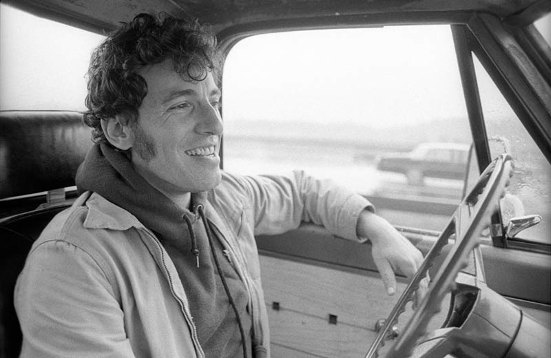 Bruce Springsteen Driving His Pickup, New Jersey, 1979