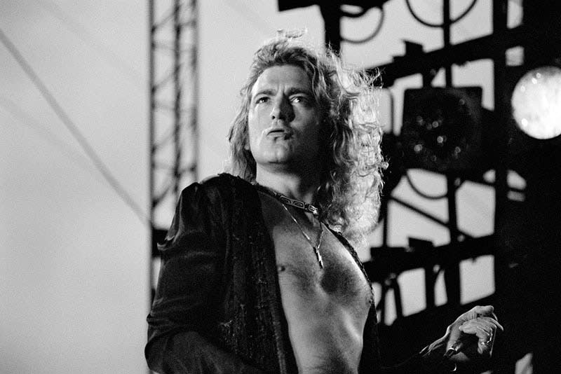 Robert Plant Onstage, Tampa FL, 1973