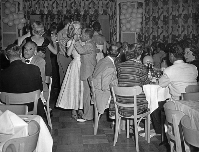 Marilyn Monroe Dancing With Johnny Hyde, Palm Springs, 1949