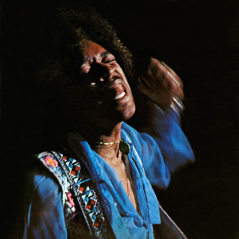 Jimi Hendrix, Hendrix in the West Album Cover, Winterland Ballroom, SF, 1968