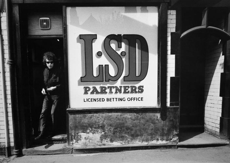 Bob Dylan, LSD Betting Partners, Sheffield, 1966