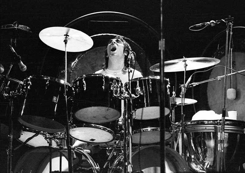 Keith Moon on Drums, Odeon Cinema, Newcastle, 1973
