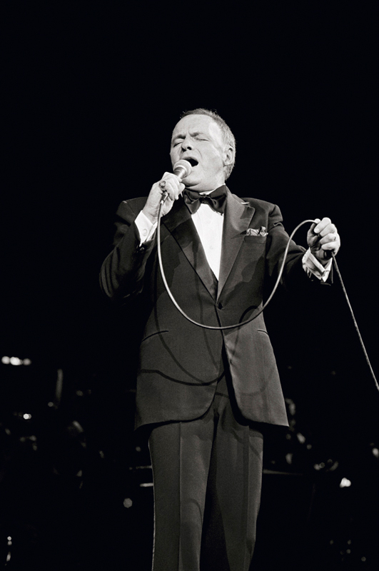 Frank Sinatra Singing, London, 1989