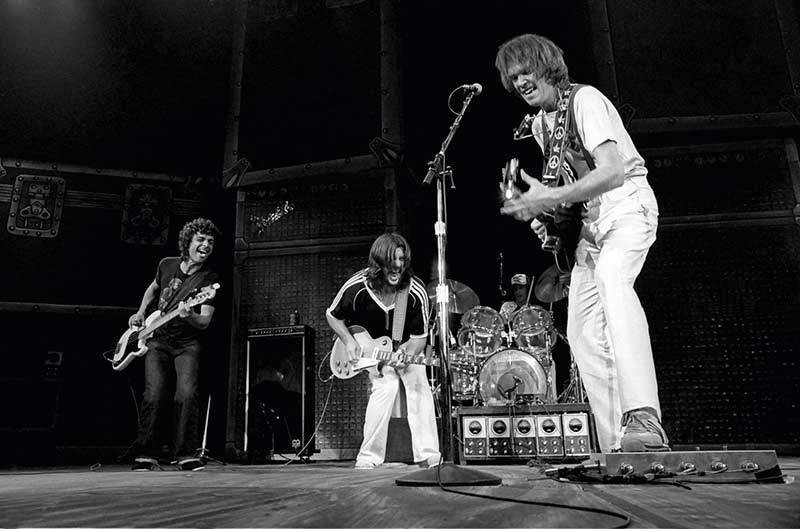 Neil Young With Crazy Horse, Madison Square Garden, NYC, 1978