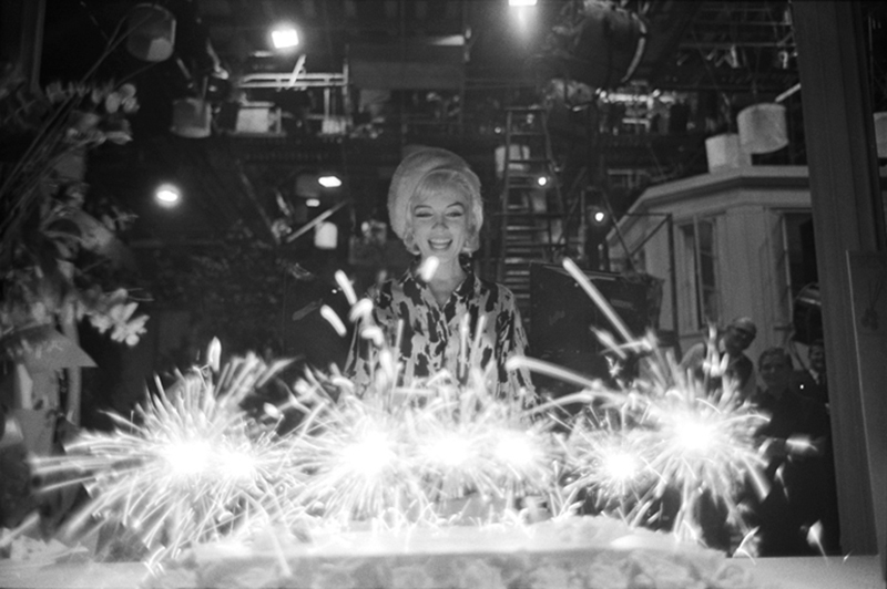 Marilyn Monroe (37b), 36th Birthday, June, 1962 - Sparklers