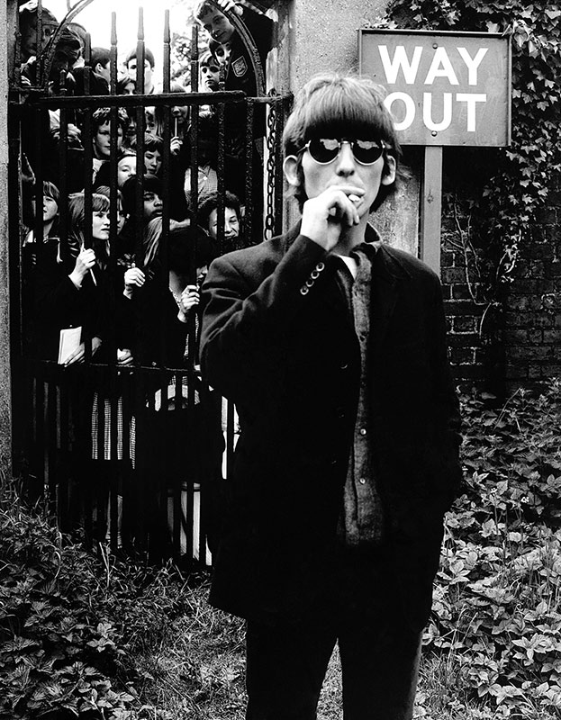 George Harrison, Way Out, Chiswick Park, London, 1966