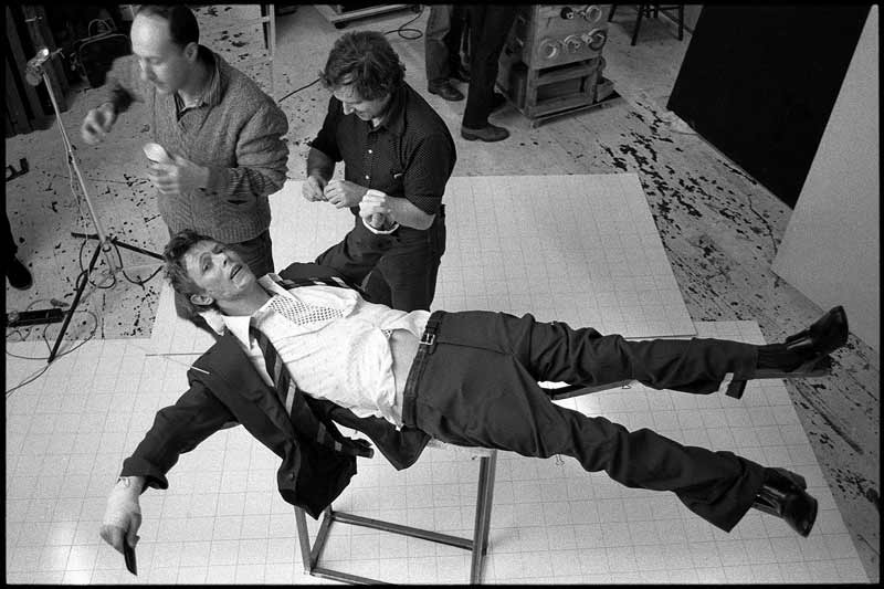 David Bowie, Lodger Special Effects Set Build, 1979