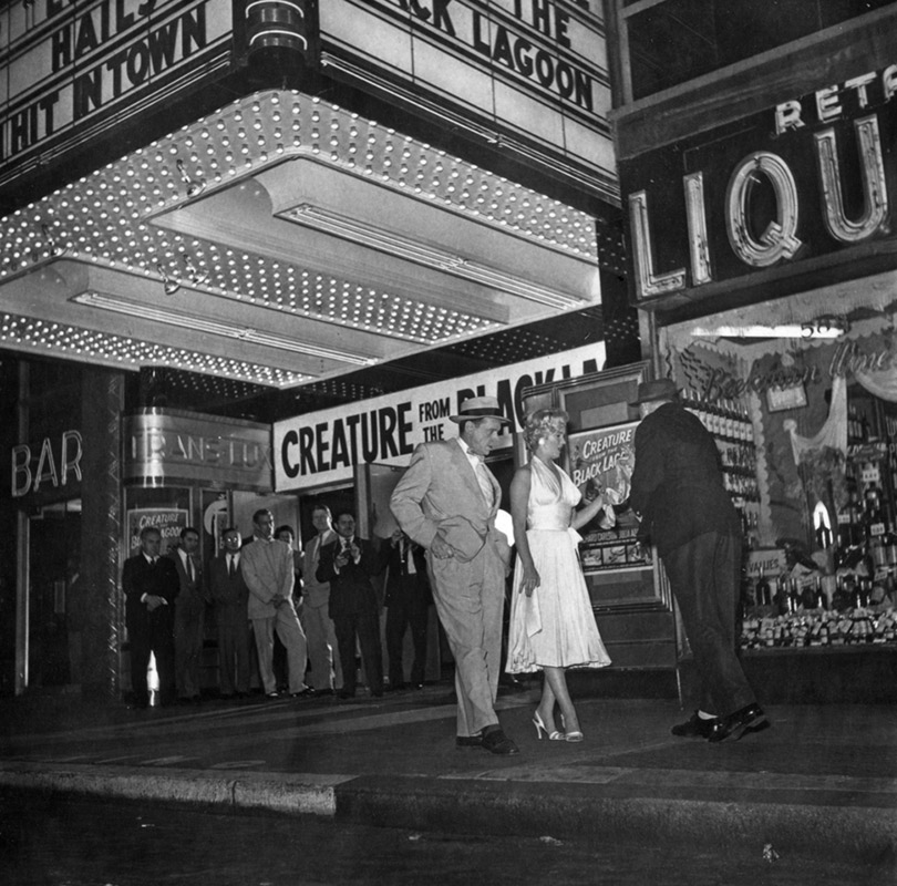 Marilyn Monroe, Tom Ewell & Billy Wilder on the Set of The Seven Year Itch, 1954