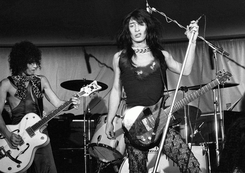 New York Dolls Onstage, Bibas, West London, 1973