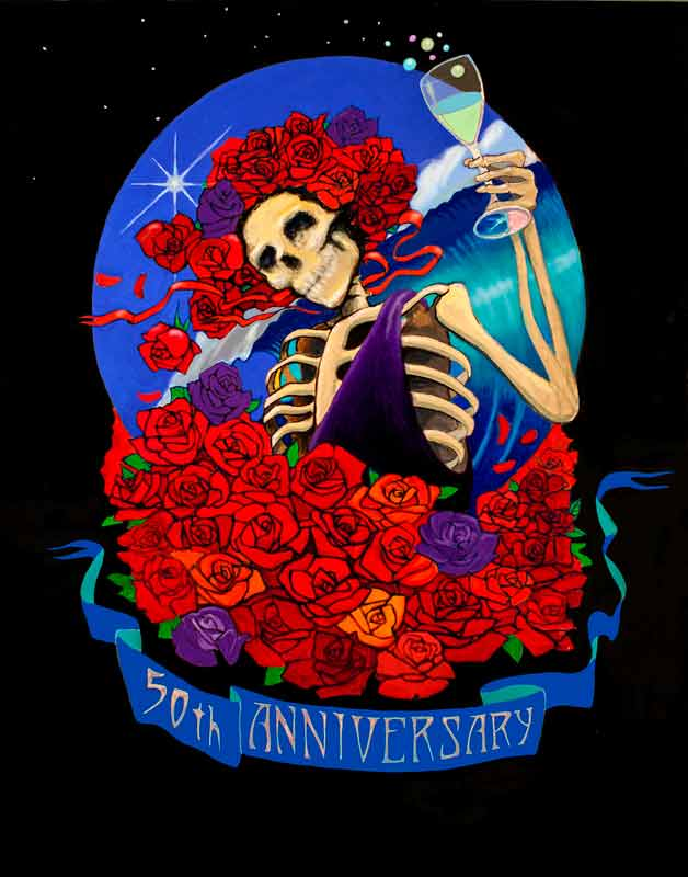 50th Anniversary of Stanley Mouse and the Grateful Dead, 2015