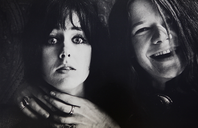 Grace Slick and Janis Joplin Choke, San Francisco 1967