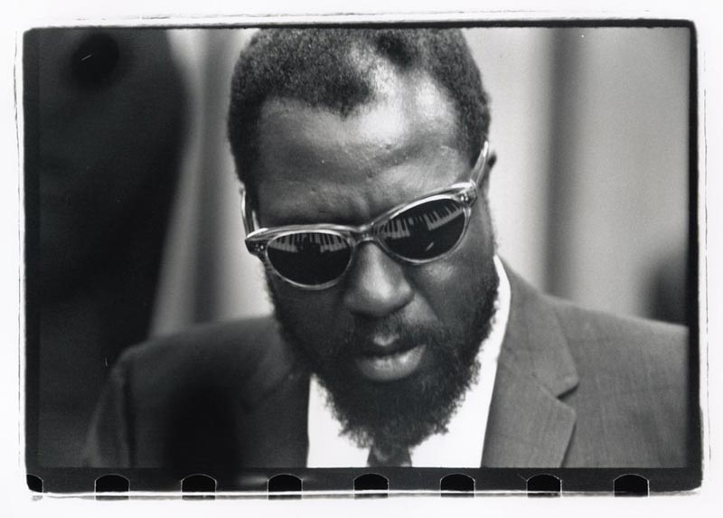 Thelonious Monk, Piano Keys, United Nations, NYC, 1959