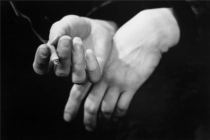 Bob Dylan's Hands, Edinborough, 1966